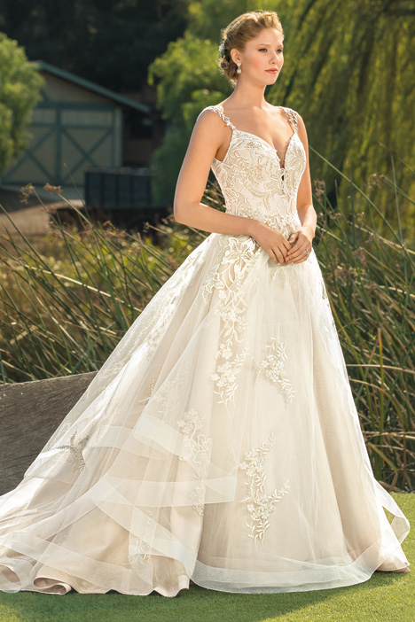 55d05a915df4 Athena gown from the 2018 Beloved By Casablanca collection, as seen on  dressfinder.ca