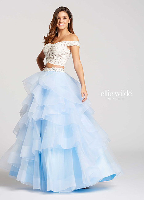 EW118040-Blue gown from the 2018 Ellie Wilde collection, as seen on dressfinder.ca
