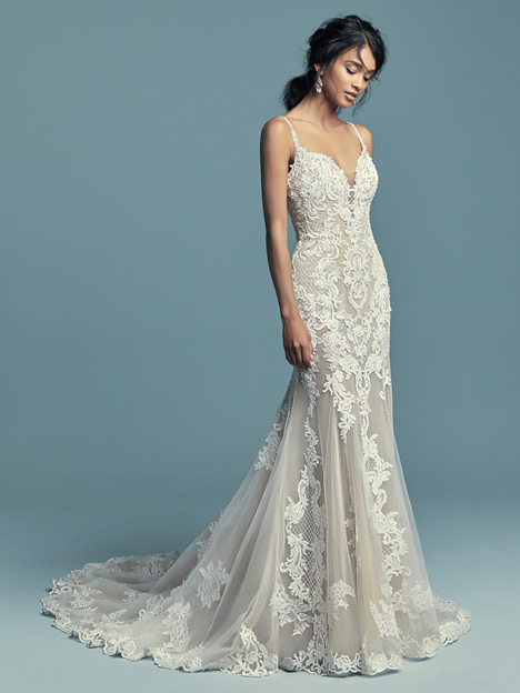 Abbie Marie gown from the 2018 Maggie Sottero collection, as seen on dressfinder.ca