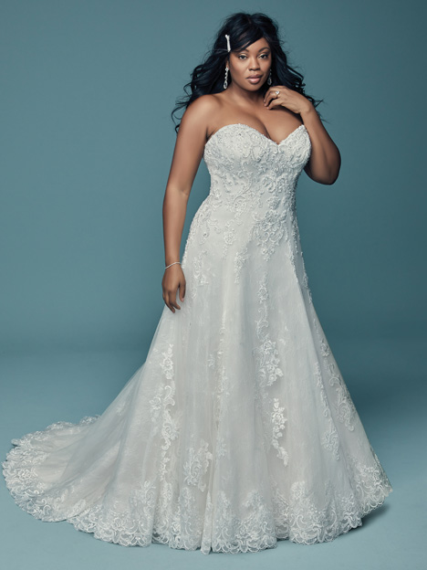 Gail (Curve) gown from the 2018 Maggie Sottero collection, as seen on dressfinder.ca