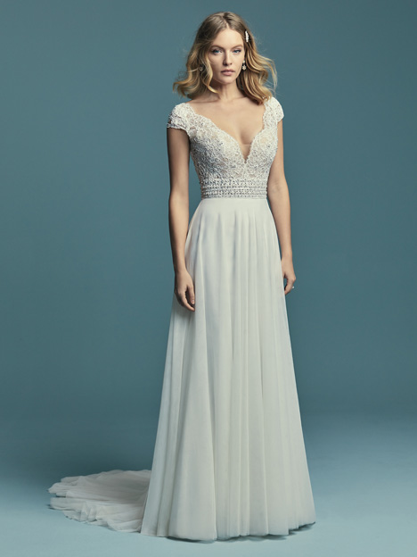 bc46cc3357f Monarch gown from the 2018 Maggie Sottero collection