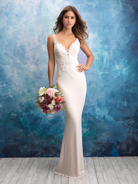 9554 gown from the 2018 Allure Bridals collection, as seen on dressfinder.ca
