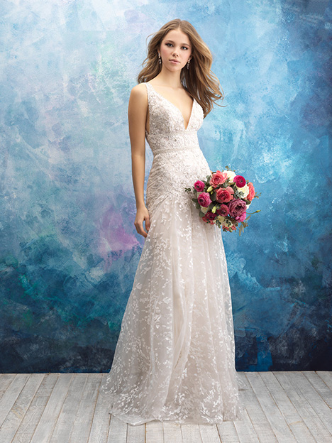 9572 gown from the 2018 Allure Bridals collection, as seen on dressfinder.ca