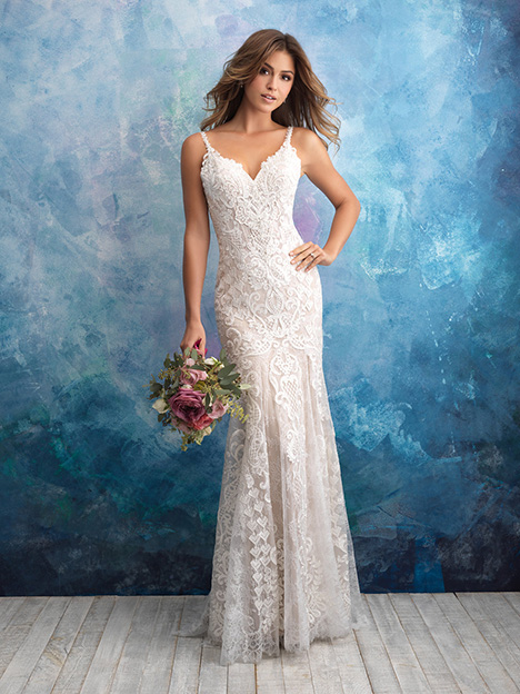 9575 gown from the 2018 Allure Bridals collection, as seen on dressfinder.ca