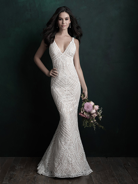 C500 gown from the 2018 Allure Couture collection, as seen on dressfinder.ca