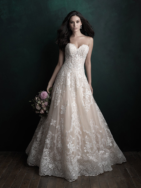 C512 gown from the 2018 Allure Couture collection, as seen on dressfinder.ca