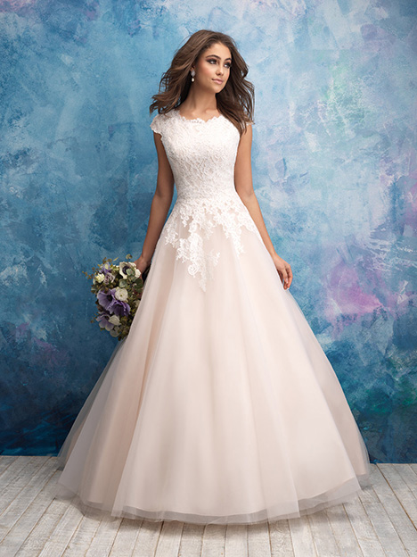 M601 Wedding Dress By Allure Modest Dressfinder