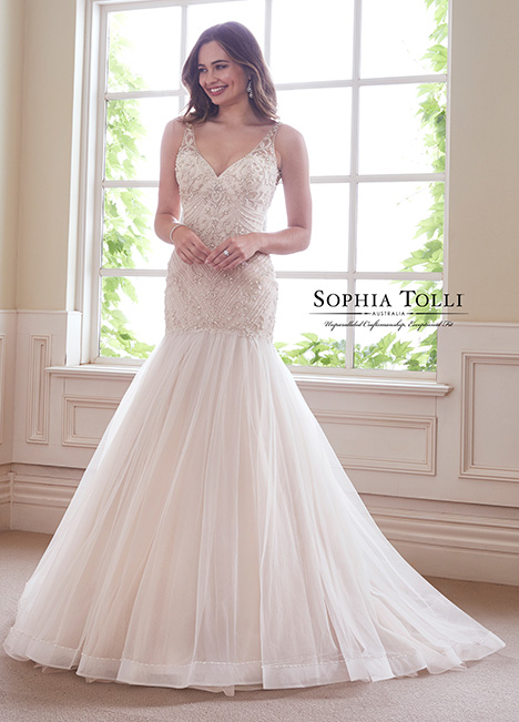 Y21811 gown from the 2018 Sophia Tolli collection, as seen on dressfinder.ca