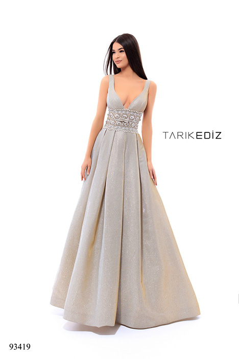 93419 gown from the 2018 Tarik Ediz: Evening Dress collection, as seen on dressfinder.ca