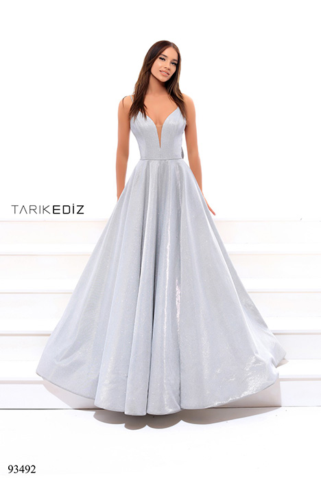 93492 gown from the 2018 Tarik Ediz: Evening Dress collection, as seen on dressfinder.ca