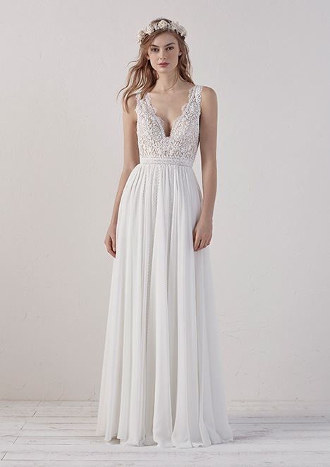 434c225c38974 EFIGIE gown from the 2019 Pronovias collection, as seen on dressfinder.ca