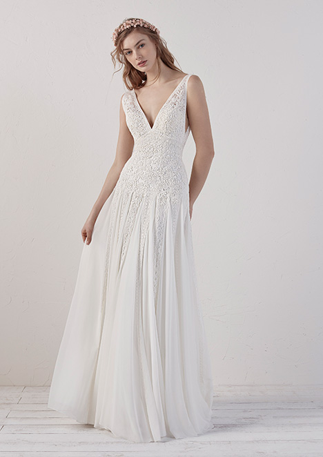 7087e24ae47 EILEEN gown from the 2019 Pronovias collection