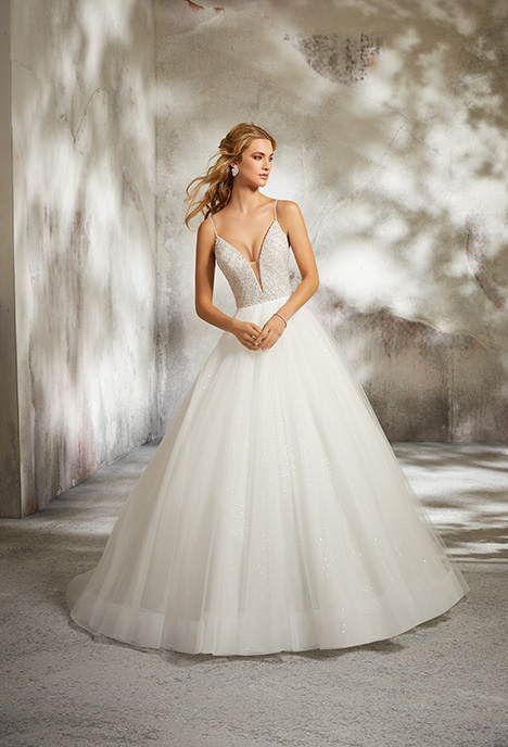 8286 gown from the 2018 Morilee Bridal collection, as seen on dressfinder.ca