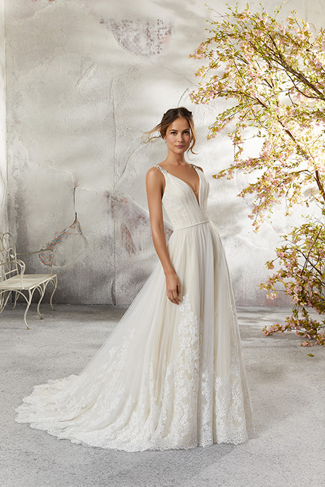 5693 gown from the 2018 Mori Lee: Blu collection, as seen on dressfinder.ca