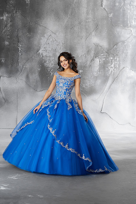 4a9fe01ab7d 89191 (Royal) gown from the 2018 Morilee Vizcaya collection
