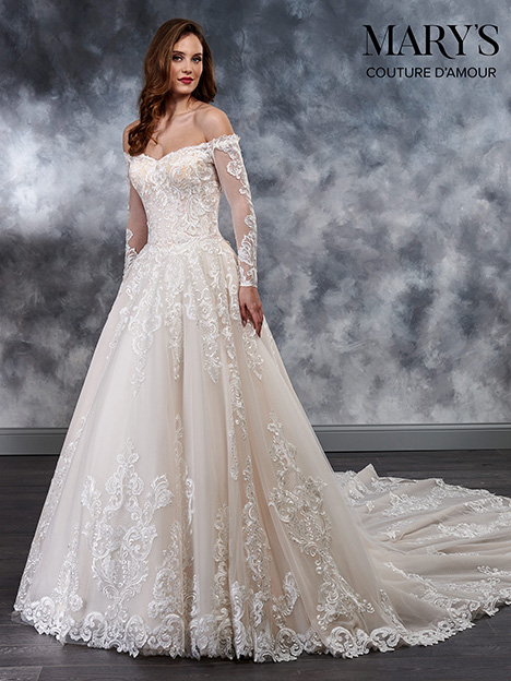 6a2fdecd3be MB4022 gown from the 2018 Mary s Bridal  Couture D Amour collection