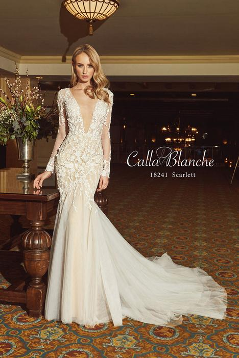 Scarlett Calla Blanche Long Sleeve Wedding Dresses Sydney