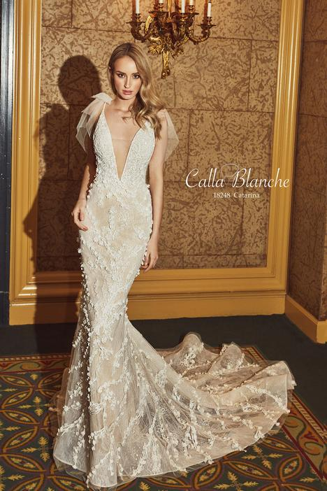 18248 gown from the 2018 Calla Blanche collection, as seen on dressfinder.ca