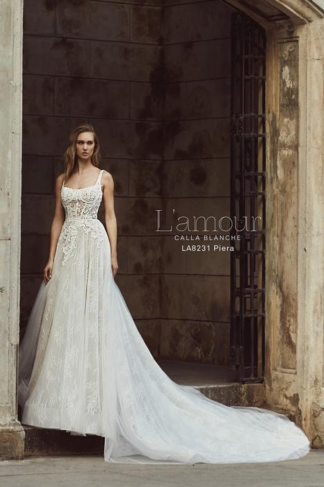 LA8231 gown from the 2018 L'Amour by Calla Blanche collection, as seen on dressfinder.ca