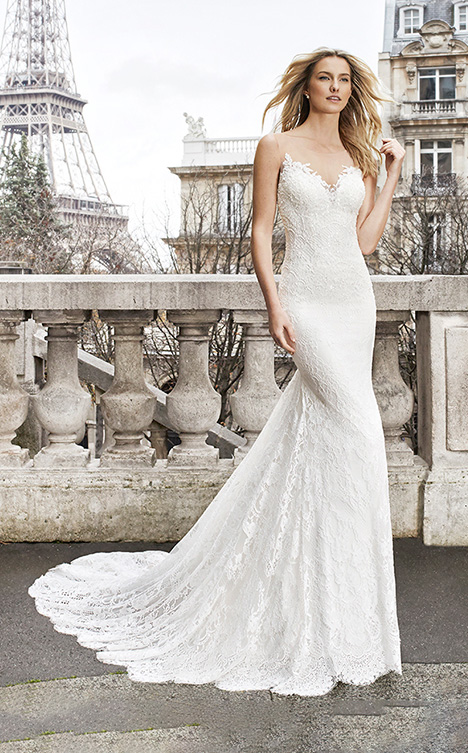 EMBER gown from the 2019 Aire Barcelona Bridal collection, as seen on dressfinder.ca