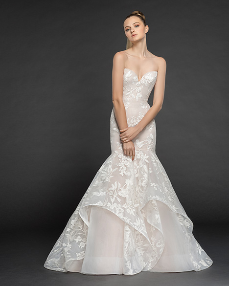 1854 Aair gown from the 2018 Blush by Hayley Paige collection, as seen on dressfinder.ca