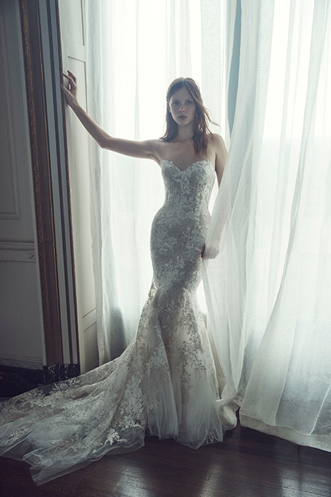 Larissa gown from the 2019 Monique Lhuillier collection, as seen on dressfinder.ca