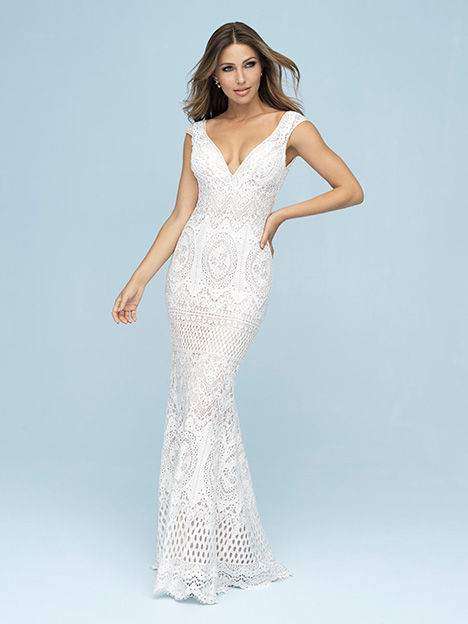 9607 gown from the 2019 Allure Bridals collection, as seen on dressfinder.ca