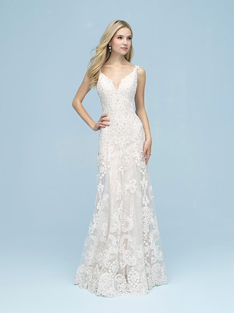 gown from the 2019 Allure Bridals collection, as seen on dressfinder.ca