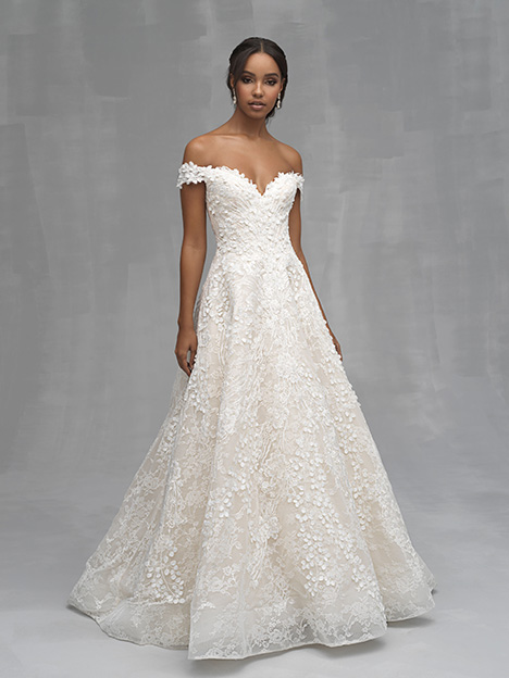 C520 Wedding Dress By Allure Couture Dressfinder