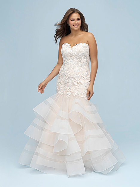 W444 gown from the 2019 Allure Women collection, as seen on dressfinder.ca