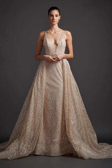06ef9d7a30a6 Aretha 3911 gown from the 2019 Lazaro collection, as seen on dressfinder.ca