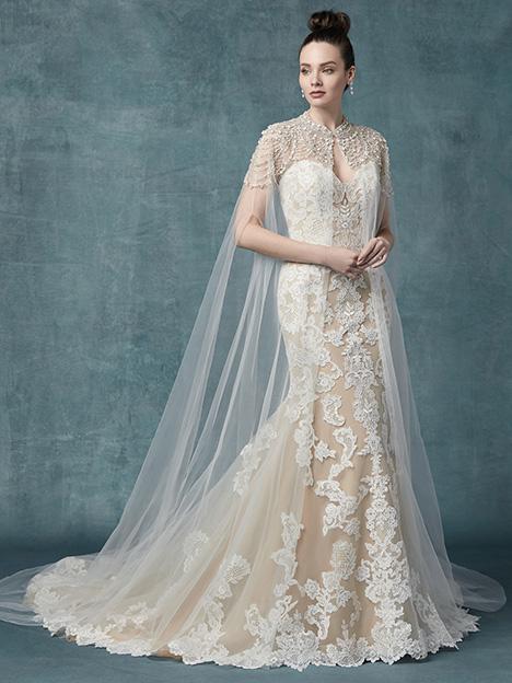 Janson Cape Wedding Dress By Maggie Sottero The Dressfinder Canada