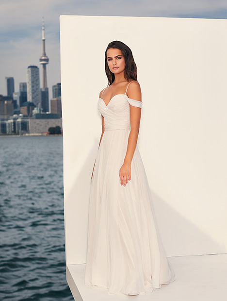 gown from the 2019 Paloma Blanca collection, as seen on dressfinder.ca