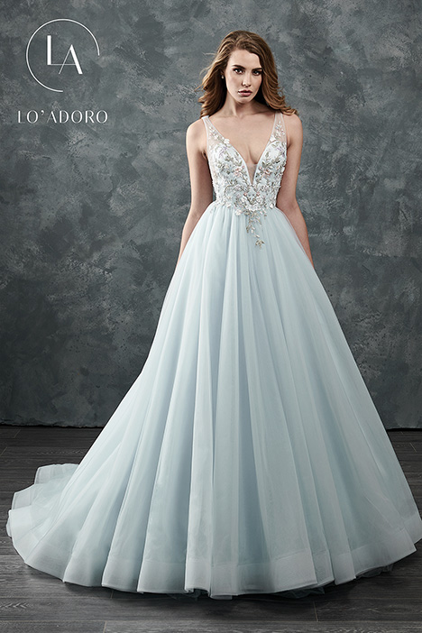 M645 (blue) Wedding Dress by Lo' Adoro
