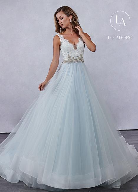 M694 (blue) Wedding Dress by Lo' Adoro